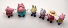 Peppa Pig: Figure Jazwares Lot Of 6 Toys