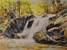 Contemporary Art/ Original Painting by American Artist Rukie Jackson /Landscape