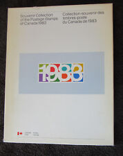 Complete Canada Souvenir Collection Book and Stamps for 1983 in Presentation Box