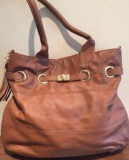 Brand New Aldo Hand Bag Brown Shoulder Bag Tassel Detail