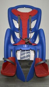 Bellelli Pepe Seatpost Mounted Baby Carrier Red/Blue