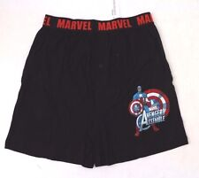 Marvel Avengers Assemble Captain America Men's Boxer Shorts Sizes S M L XL NWT
