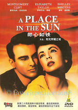 A Place in the Sun (1951) - Elizabeth Taylor, Montgomery Clift - DVD NEW
