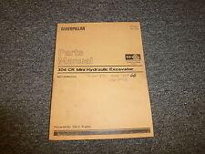 Caterpillar Cat 304 CR Mini Hydraulic Excavator S4L2 Engine Parts Catalog Manual