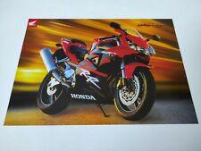 Honda CBR 900 RR 2002 Prospectus Catalogue Brochure Moto