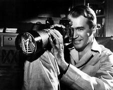 James Stewart Rear Window Exakta Camera 8X10 Photo Classic With Exakta Camera