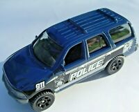 Ford Expedition K-9 Unit. EXCLUSIVE. 2017 Matchbox Police 5 PACK. DWR80. LOOSE