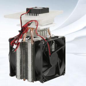 DC 12V Electronic Semiconductor Refrigeration DIY Cooler Cooling System Set New