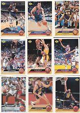 1992/93 UPPER DECK MCDONALDS SET(50)-JORDAN,ROBINSON,OLAJUWON,SHAQ,ETC.