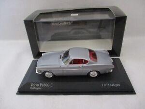 Volvo P1800 Coupe  Grey 1966   Minichamps  430171624  RARE