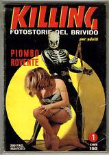 KILLING Fotostorie del Brivido N.1 da Magazzino PONZONI EDITORE 1966