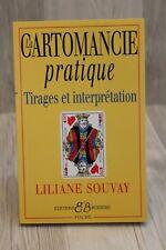 La cartomancie pratique - Liliane Souvay - Livre - Occasion