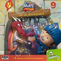 DER RITTER MIKE - 09/UND DER ZAUBERSCHATZ  CD NEW