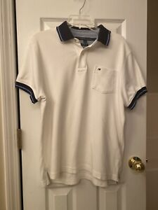 Tommy Hilfiger Men's White Casual Shirt Small