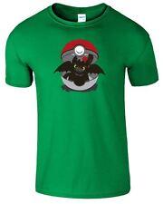How To Train Your Dragon Kids TShirt Inspired Toothless Pokemon Girls Top Tshirt