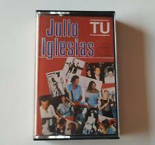 JULIO IGLESIAS 'Tu' Cassette Compilation 1982 Tape MC RARE