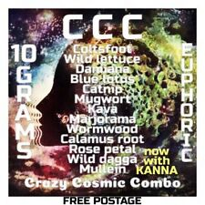 Crazy Cosmic Combo (10 Grams) Herbal High Smoke Mix | With Blue Lotus & Kanna