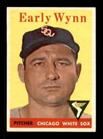 1958 Topps Set Break # 100 Early Wynn EX-MINT *OBGcards*