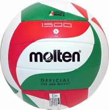 Molten Volleyball V5M1500 Trainingsball weiß grün rot Gr 5