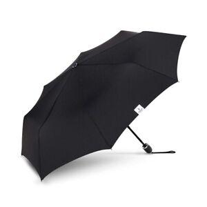 The Indestructible Umbrella Matte Black TPR Grip Compact Manual Umbrella