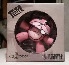 PINK TEETER Joe Ledbetter KIDROBOT Urban Vinyl DUNNY RABBIT Designer Figure Bear