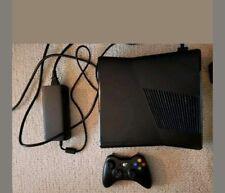 Microsoft Xbox 360 4GB Matte Black Console and Contoller