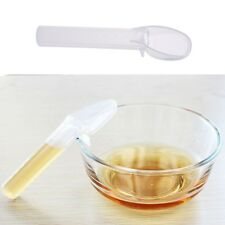 Portable Baby Scaled Silicone Transparent Water Feeding Medicine Feeding Spoon