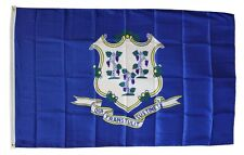 Connecticut State Flag 3 x 5 Foot Flag - New 3x5 Indoor Or Outdoor -lower price