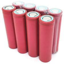 8X 18650 3000mAh 30A 3.7V Batería Recargable Battery High Drain para Vaporizador