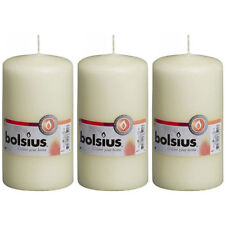 Yellow Candles Pack Of 30 Bolsius 24.5cm Decorative Candle Free P/&P