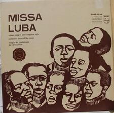 Missa Lumba - Les Troubadours Du Roi Baudouin LP VG+ PCC 606 Vinyl 1965 Record