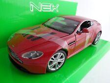 Aston Martin V12 Vantage / Modellauto / Nex Modell / Rot/1:24/Welly/Neu/OVP