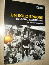 DVD DOCUMENTAL PELÍCULA UN SÓLO ERRORES MASACRE DE BOLOGNA 2 AGOSTO 1980 MATTEO