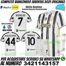Maglia Juventus Nuova 2020 2021 Juve Ronaldo Dybala Kulusevski Bambino Originale