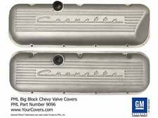 Corvette 396 427 454 502 Big Block Stock Valve Covers Raised Logo Sand Cast PML