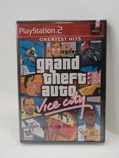 026- Playstation 2 Grand Theft Auto Vice City New/Sealed