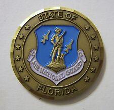 FLORIDA AIR NATIONAL GUARD CHALLENGE COIN NIP
