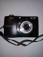 Nikon Coolpix L24 14MP Digital Camera with 3.6x Optical Zoom - Black.E10