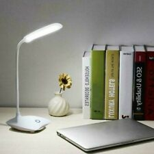 Dimmable LED Desk Light Table Bedside Reading Lamp Touch Sensor Rechargeable U
