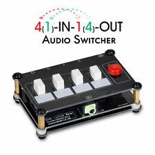 Little Bear Mc104-Pro 3.5mm headphone 4 ways Audio Switcher Splitter selector