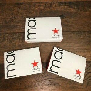 3 Boxes - Fragrance Samples Created for Macy's