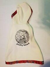 NEW Dog Sweater Hoodie Lucky Hound  M