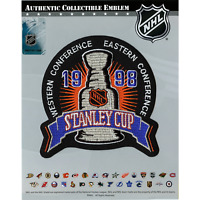 1998 NHL Stanley Cup Final Jersey Patch Detroit Red Wings Washington Capitols