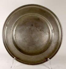 PLATEAU 30cm ETAIN TAMISE TEMSE JB NYS 1714-1780  Key. ZINN Platte. PEWTER plate