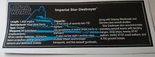 Star Wars Sticker for LEGO ® 10030 Star Destroyer ISD high quality