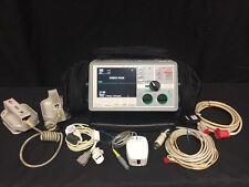 ZOLL E Series 12 Lead Bluetooth LoFlo ECG NIBP SPO2 CO2 Pacer Paddles