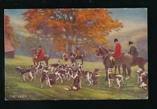Fox Hunting THE MEET Tuck Oilette #8778 early PPC