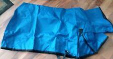 Weaver Leather Nylon Solid Butt Sheep Blanket, blue, Medium 110-140 lbs.