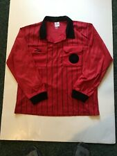 Soccer Referee Jersey Large Red Ls