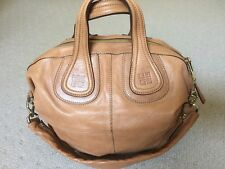 Givenchy Nightingale Medium Satchel In Camel Tan Leather- Like New! 902a8a87b49c4